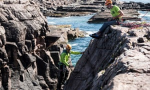 Discover Rock Climbing course at Glenmore Lodge, Highlands, UK.