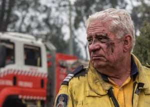 Steve Urquhart from Camden West RSF, who has been fighting the fires at Wingello.