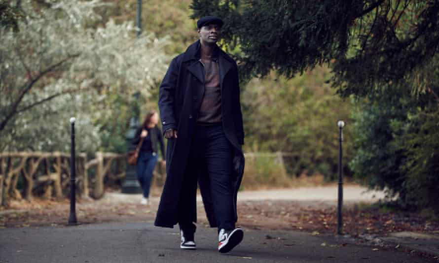 Omar Sy in the second series of Lupin.