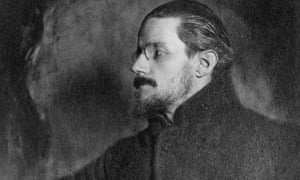 James Joyce, pictured in 1918.