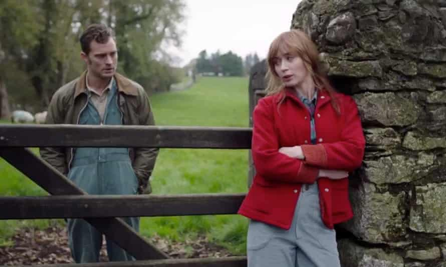 Jamie Dornan and Emily Blunt in Wild Mountain Thyme.