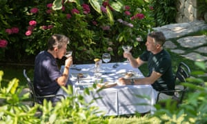 Rob Brydon (left) and Steve Coogan in The Trip To Greece