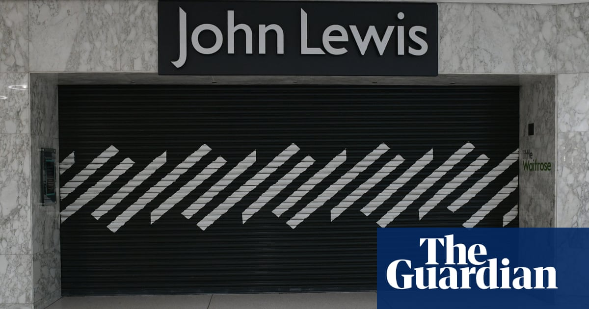 John Lewis to close eight more stores, putting 1,500 jobs at risk