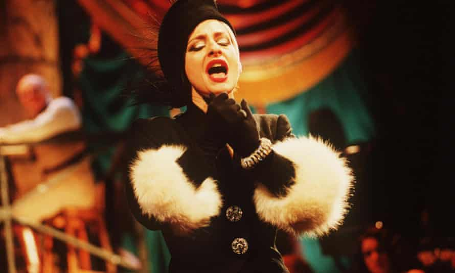 Femme fatale … LuPone in Sunset Boulevard, the show that sparked her feud with Lloyd Webber.