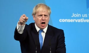 Boris Johnson speaks after being announced as Britain's next prime minister.