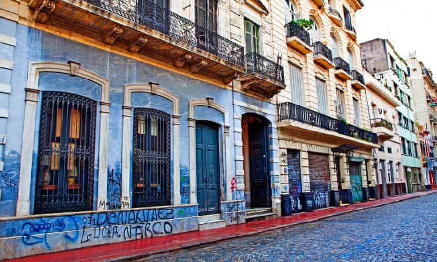 The San Telmo neighborhood, Buenos Aires.