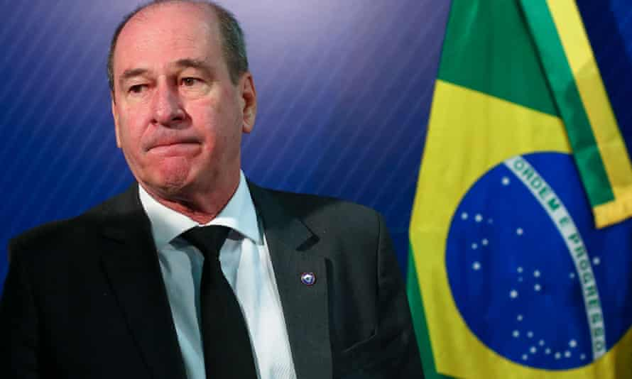 Brazil's defense minister Fernando Azevedo e Silva was fired on Monday.