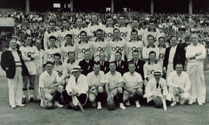 Australian rules exhibition game in 1956