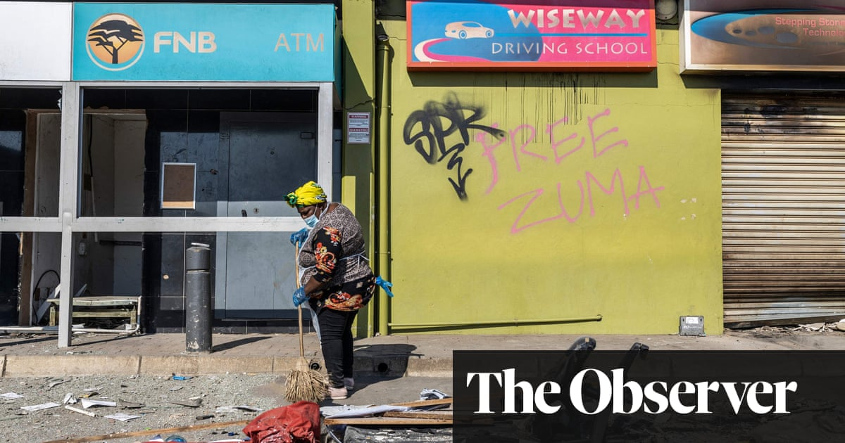 The Observer view on South Africa's problems