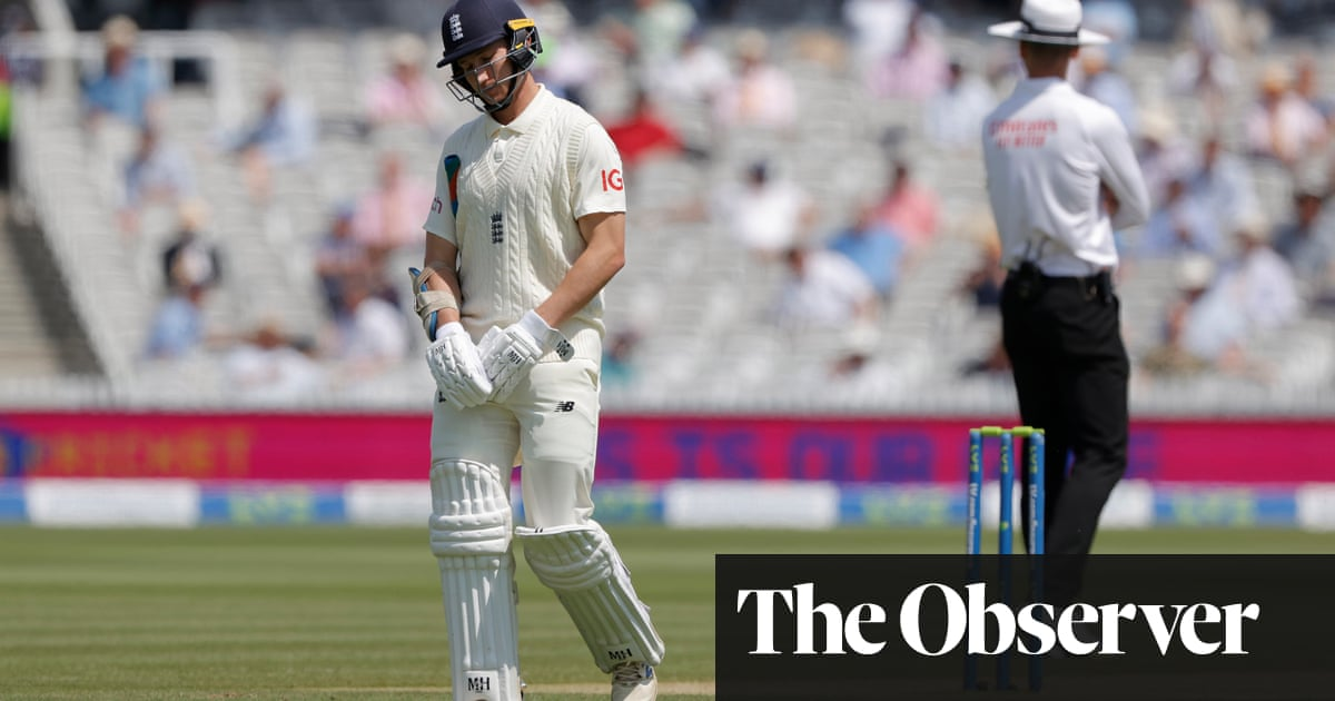 England middle order's car-crash batting puts New Zealand in the driving seat | Andy Bull