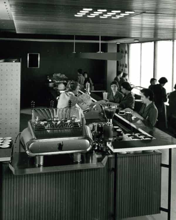 ICI House cafe in 1958.