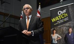 Malcolm Turnbull speaking to media