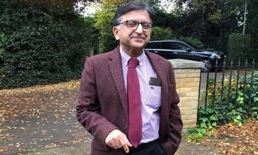 Tariq Shafi, 61, a consultant haematologist, died on Wednesday after being on a ventilator for two weeks