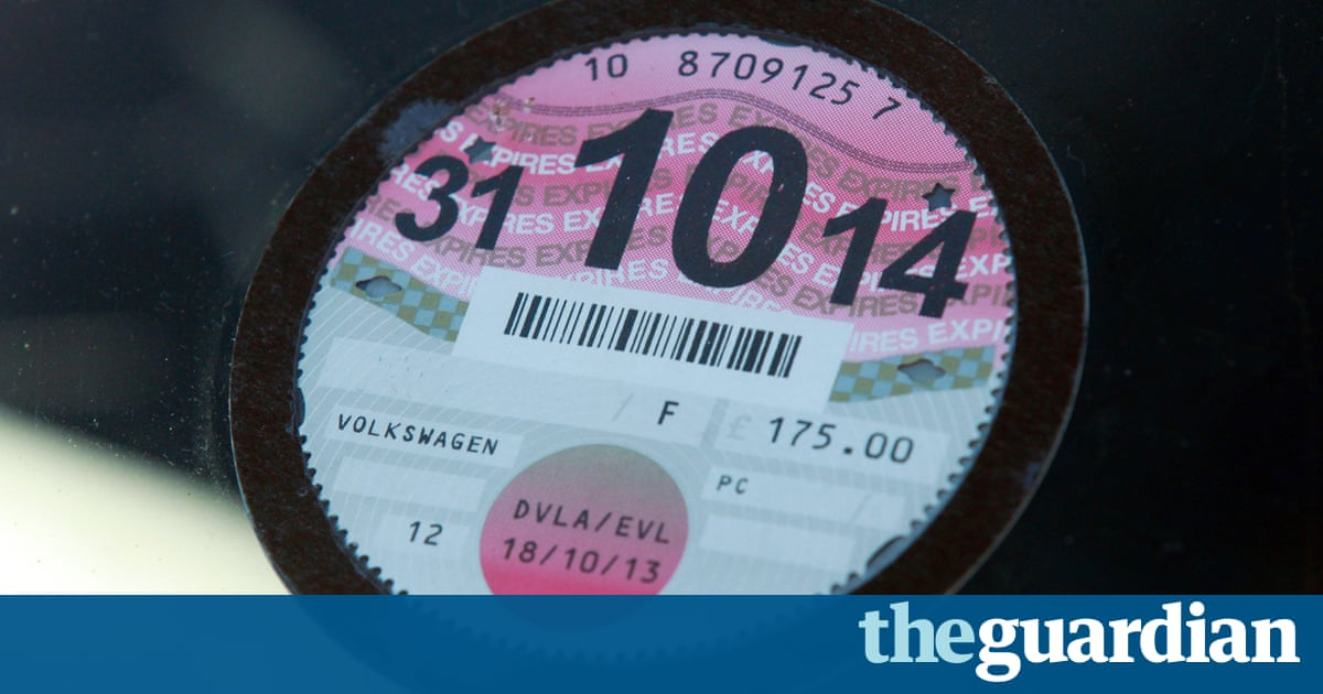 Number of untaxed vehicles in UK trebles after tax disc abolition
