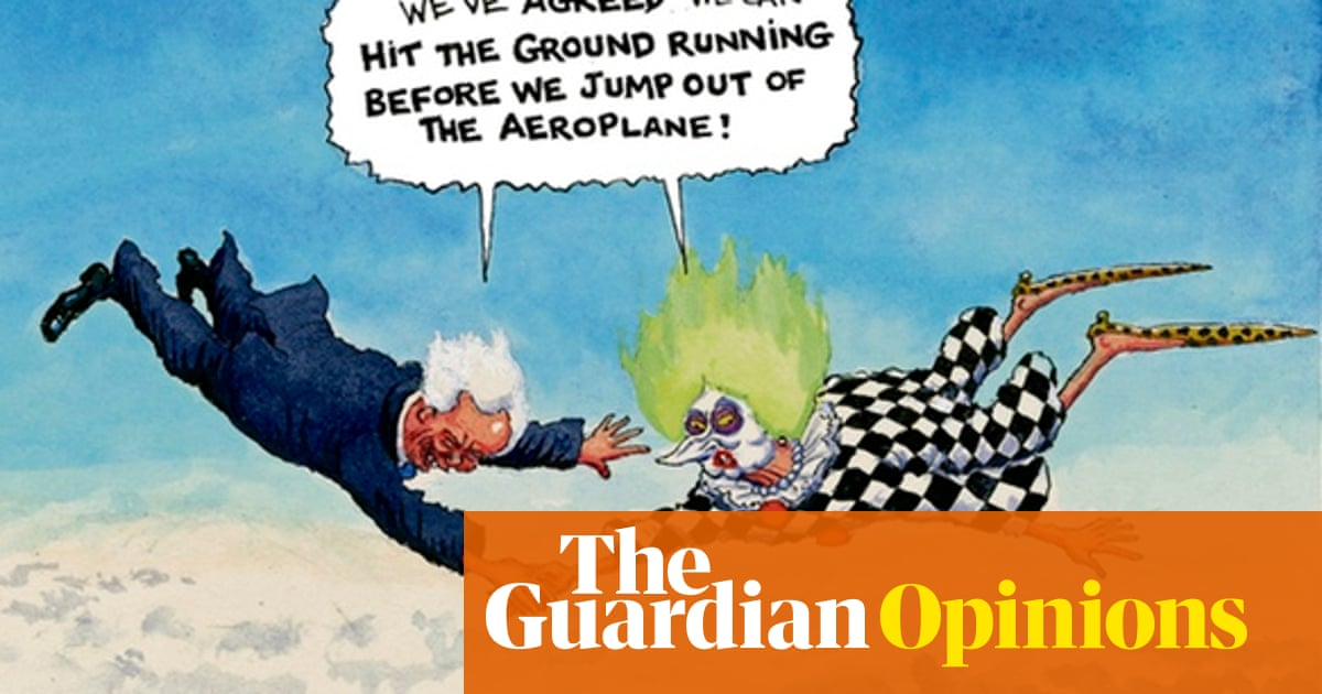 Steve Bell on Tory inconsistencies over Brexit – cartoon