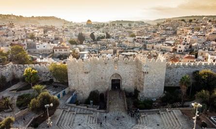 The Old City in Jerusalem.