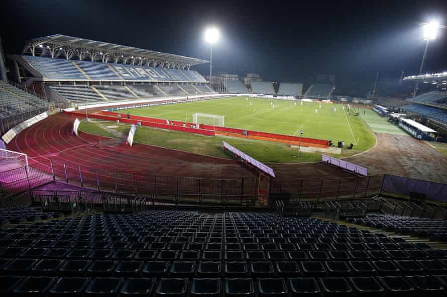 General view of Stadio Carlo Castellani.