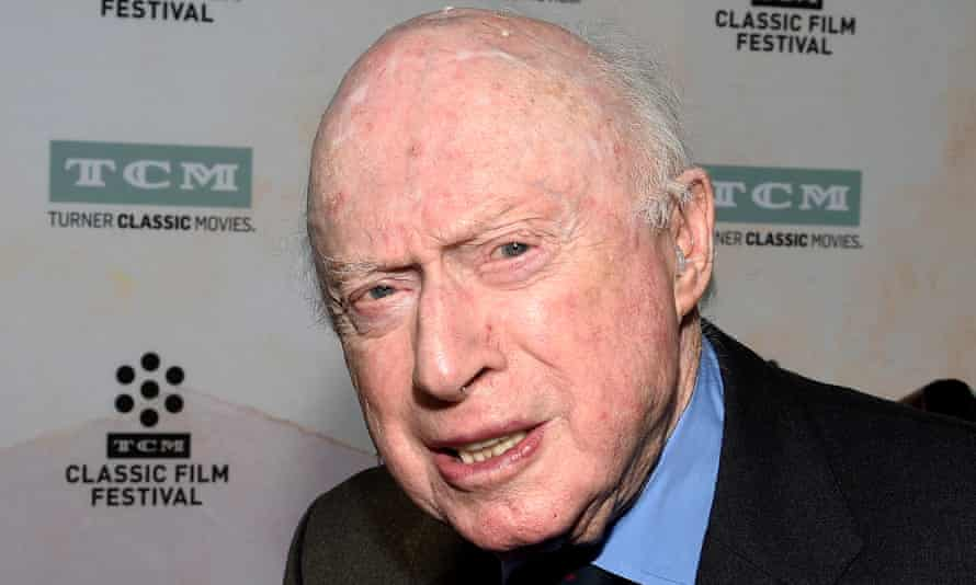 Norman Lloyd poses during 50th anniversary screening of musical drama film The Sound of Music at the opening night gala of the 2015 TCM Classic Film Festival in Los Angeles.