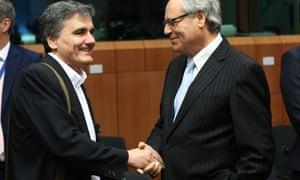 Euclid Tsakalotos and Edward Scicluna