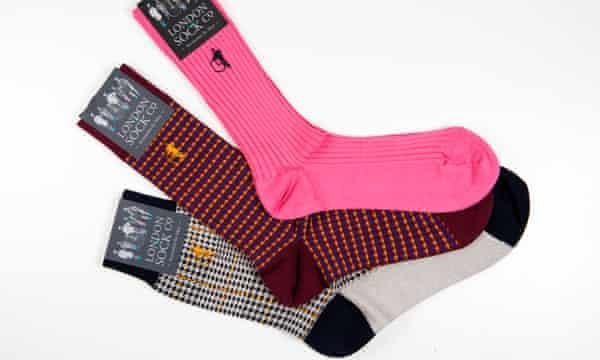 Socks from the London Sock Company.