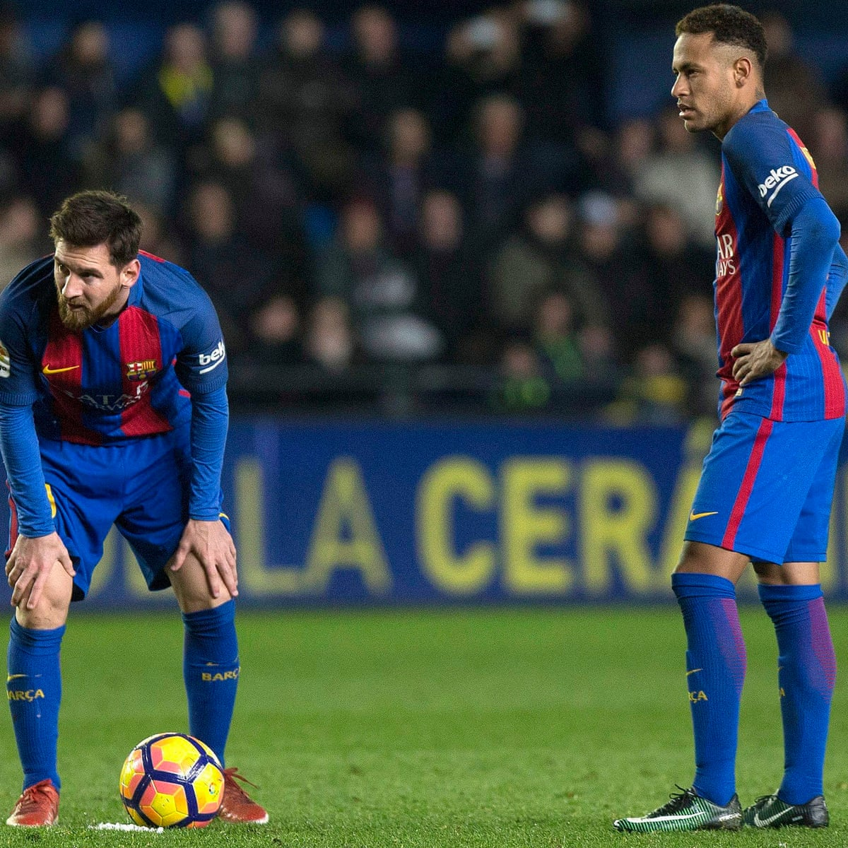 Lionel Messi Rescues Barcelona With Late Equaliser Against