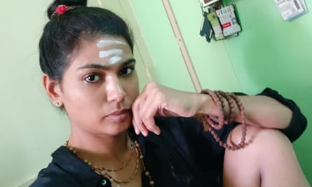 Rehana Fathima has also been suspended from her job over the Facebook picture.