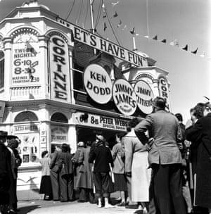 Blackpool, England. 1956.