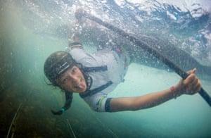 British slalom canoeist Mallory Franklin