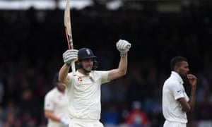 Chris Woakes scores century at Lord's