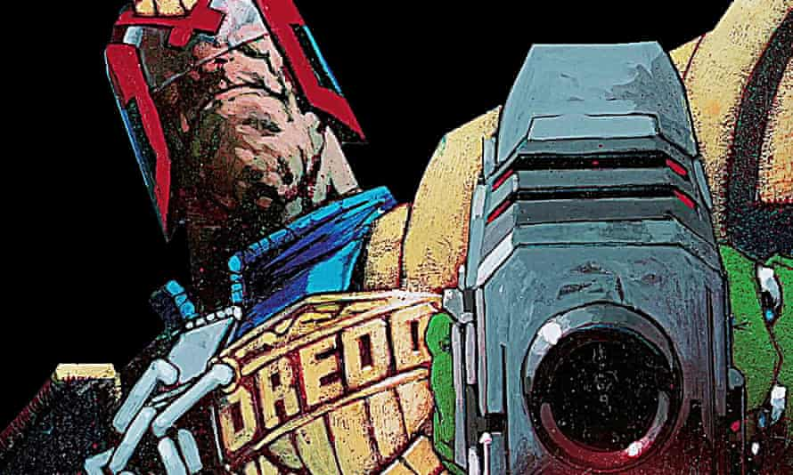 He is the law … Judge Dredd