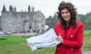 Trump executive Sarah Malone reveals the expansion plans for the estate in Aberdeen.