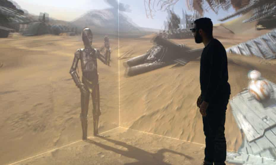 The New Frontier exhibition of virtual reality films at the 2016 Sundance film festival