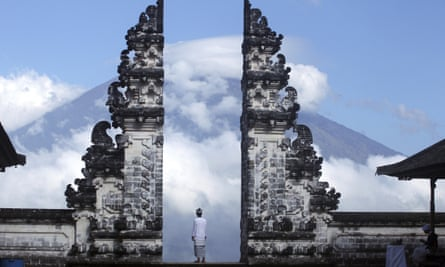 The alert for Mount Agung has been raised to the highest level.