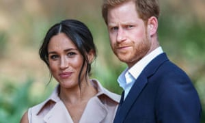 The Duchess and Duke of Sussex on their royal tour in Johannesburg