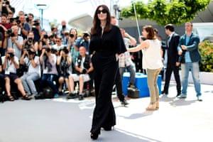 Italian actress and master of ceremonies Monica Bellucci