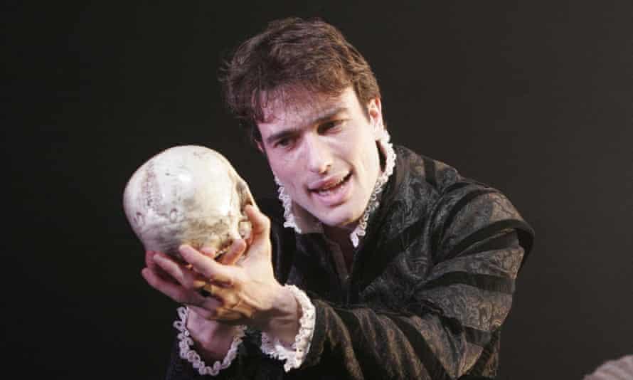 Admiring reviews … Stoppard playing Hamlet in 2005.