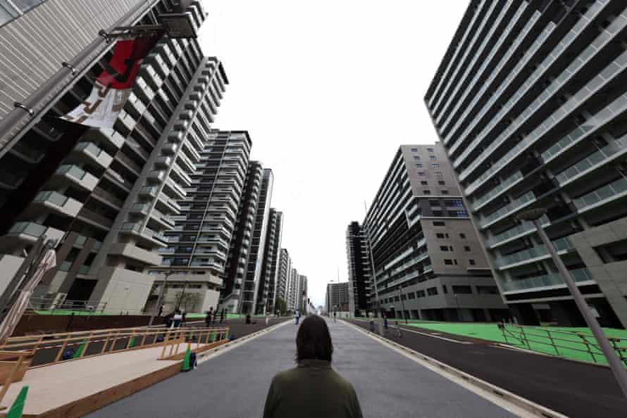 Tokyo's Olympic Village.