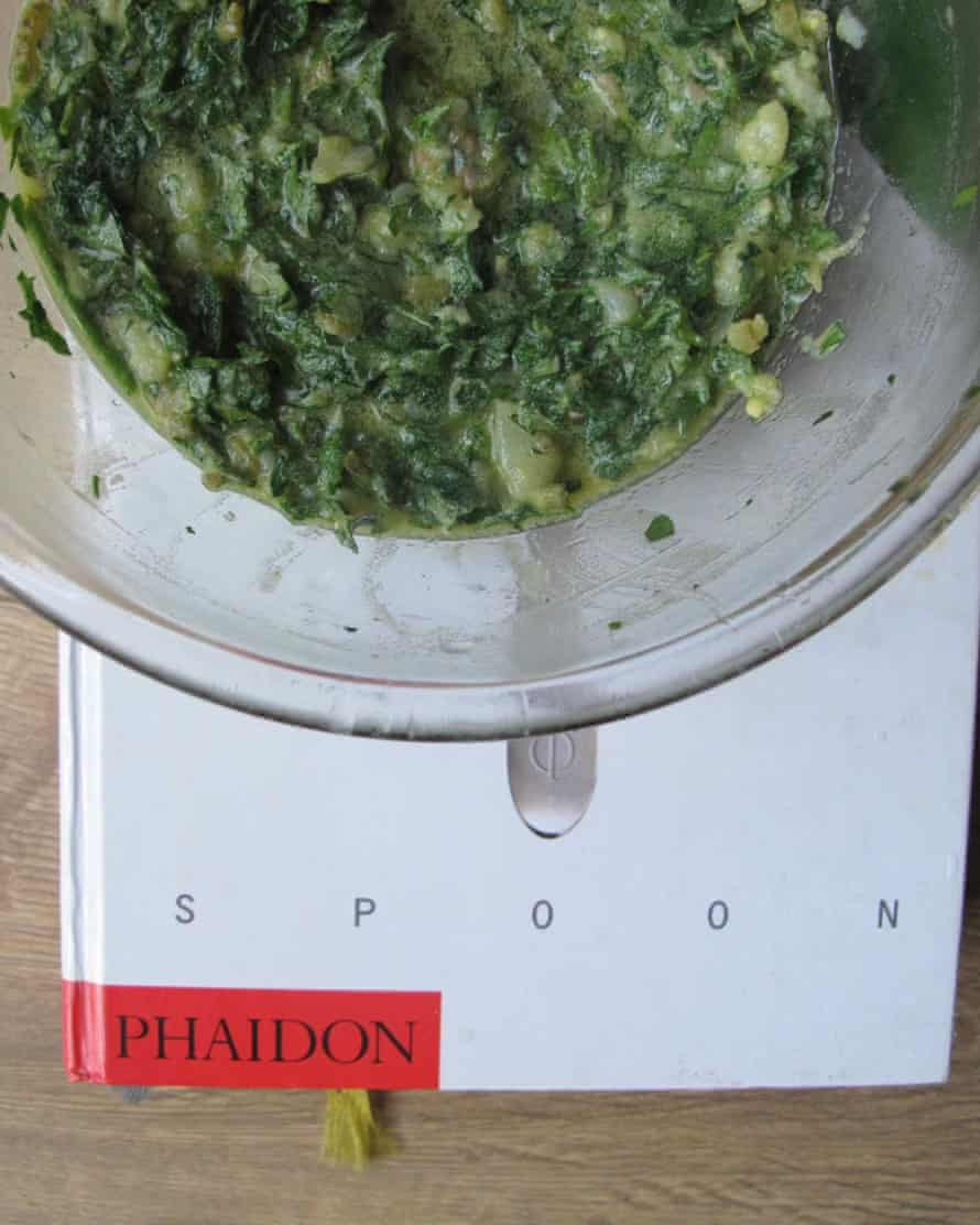 Salsa verde recipe from The Silver Spoon.