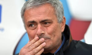 The Chelsea Manager Jose Mourinho