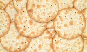 The water biscuit line is running at about 80% capacity as United Biscuits fixes glitches with factory equipment.