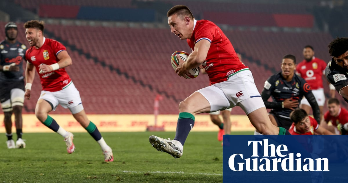 Adams hat-trick fuels Lions win but Covid chaos puts tour on brink