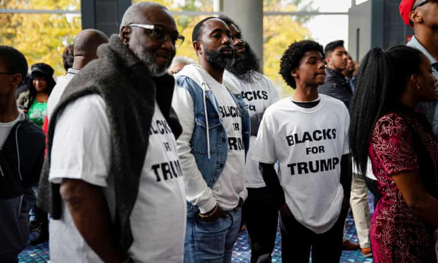'Black support for Trump increases as the black population of a neighborhood decreases.'