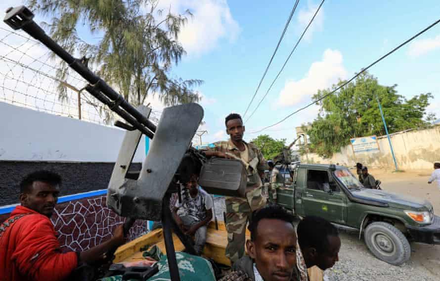 Fighters loyal to former police chief Sadiq 'John' Omar