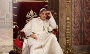 Jeremy Irons in The Borgias.