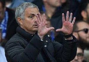 Mourinho, needs a plan B for the second half.