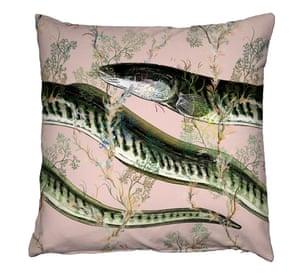 Eel cushion, £135, timorousbeasties.com