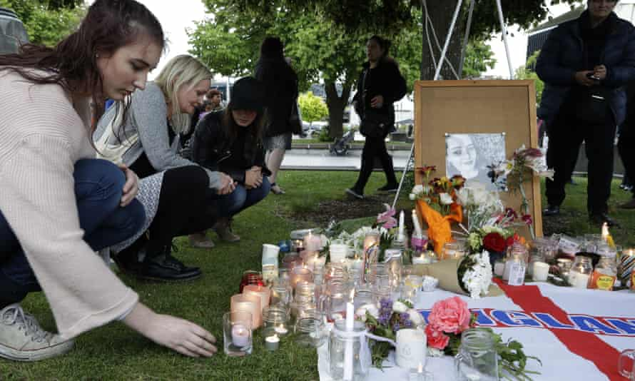 A vigil for Grace Millane held in Christchurch, New Zealand, in December 2018.