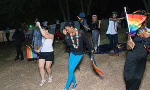 Pride celebrations in Jamaica.