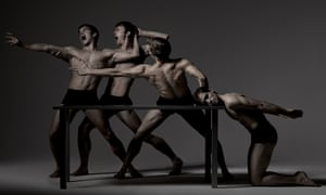 A hymn to the male body … Scottish Ballet.