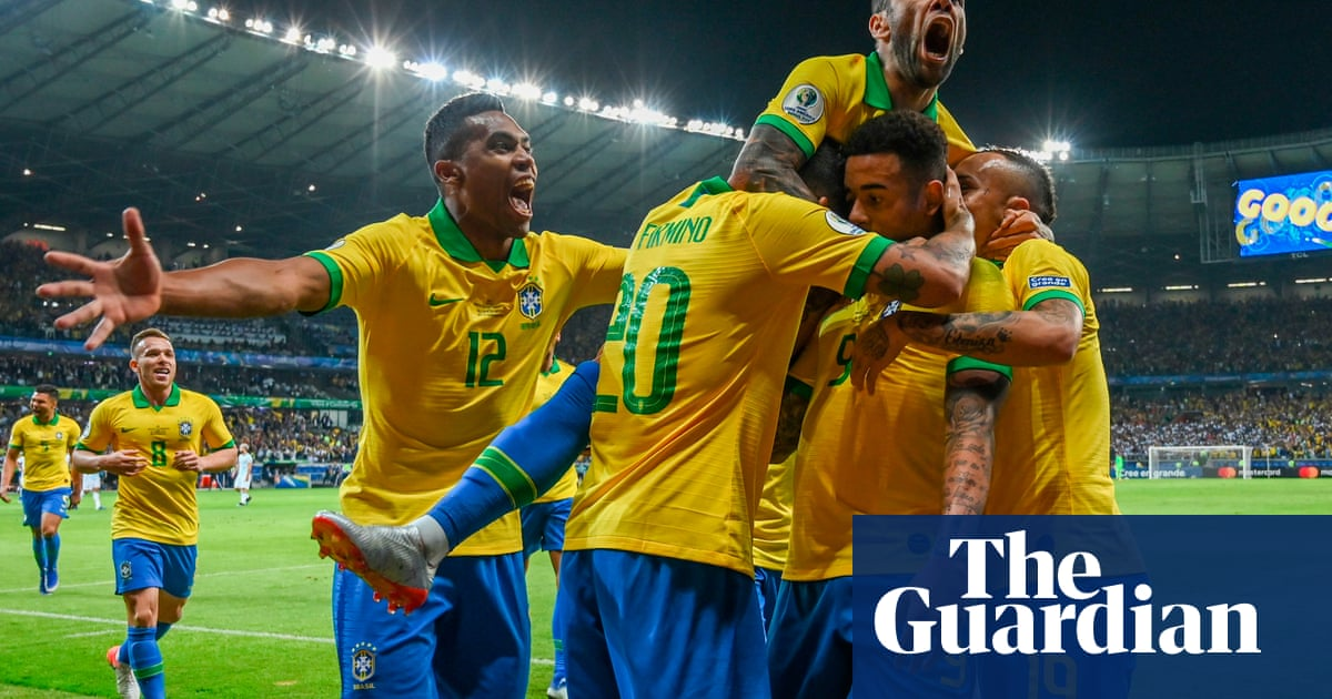 Brazil set out to win the Copa América final and the love of